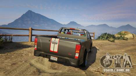 Isuzu D-Max X-Series 2015 para GTA 5