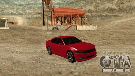 Dodge Charger R/T 2015 para GTA San Andreas vista direita