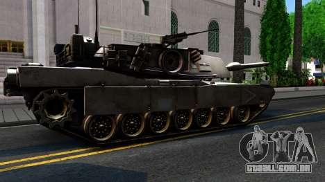 M1A1 Abrams COD4MW Remastered para GTA San Andreas vista interior