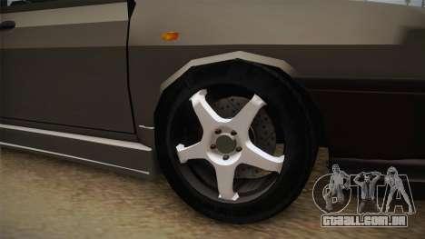 Dacia 1310 Berlina Tunata para GTA San Andreas vista traseira