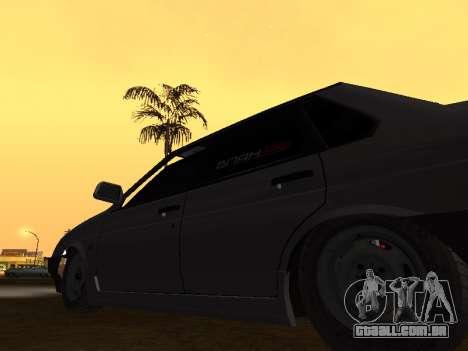 VAZ 21099 BPAN para GTA San Andreas vista traseira