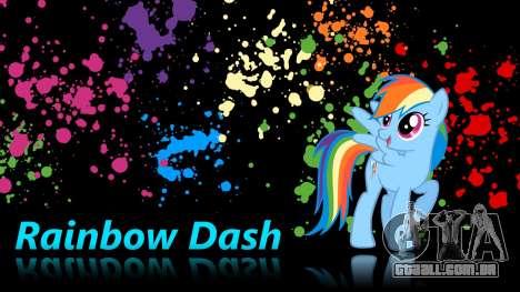 As telas de carregamento de My Little Pony para GTA San Andreas terceira tela