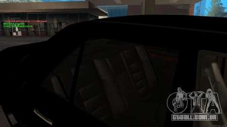 Mercedes-Benz W124 E500 Armenian para GTA San Andreas vista inferior