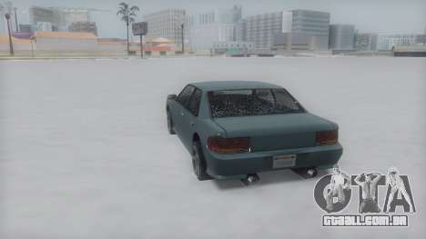 Sultan Winter IVF para GTA San Andreas vista direita