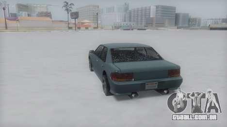 Sultan Winter IVF para GTA San Andreas vista direita
