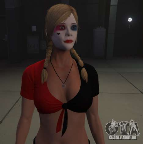 Harley Quinn Tracey para GTA 5