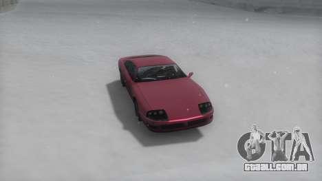 Jester Winter IVF para GTA San Andreas traseira esquerda vista