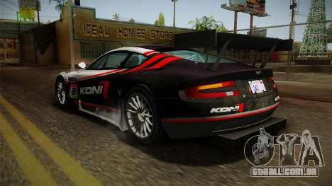 Aston Martin Racing DBR9 2005 v2.0.1 Dirt para GTA San Andreas