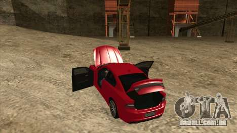 Dodge Charger R/T 2015 para GTA San Andreas vista interior