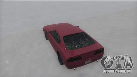 Jester Winter IVF para GTA San Andreas vista direita