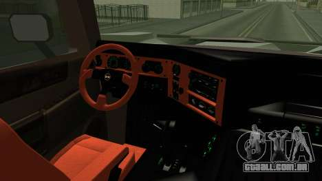 Hummer H2 6x6 Monster para GTA San Andreas vista interior