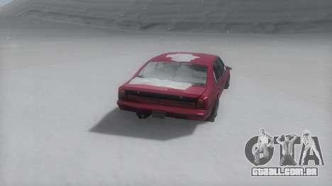 Emperor Winter IVF para GTA San Andreas esquerda vista