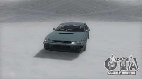 Sultan Winter IVF para GTA San Andreas traseira esquerda vista