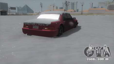 Sunrise Winter IVF para GTA San Andreas esquerda vista
