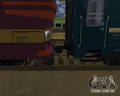 Uma segunda classe de transporte para GTA San Andreas