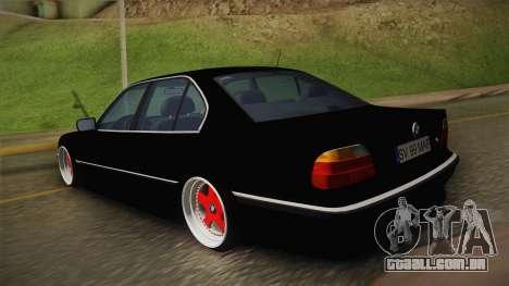 BMW 7 Series E38 Low para GTA San Andreas esquerda vista