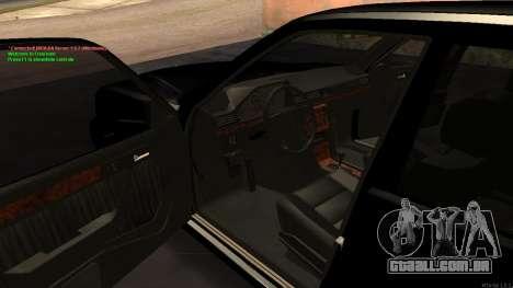 Mercedes-Benz W124 E500 Armenian para vista lateral GTA San Andreas