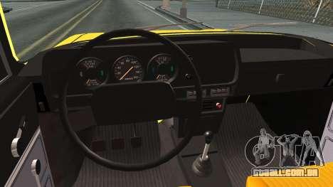 AZLK 412 para GTA San Andreas vista interior