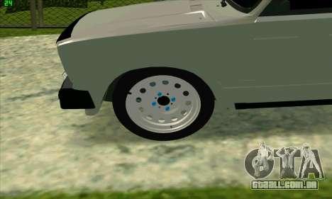 VAZ 2104 Krasnoyarsk BPAN para GTA San Andreas esquerda vista