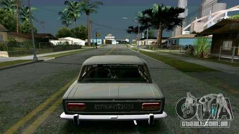 Brilhante timecyc para GTA San Andreas por diante tela
