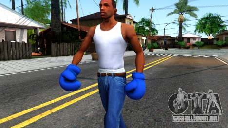 Blue Boxing Gloves Team Fortress 2 para GTA San Andreas