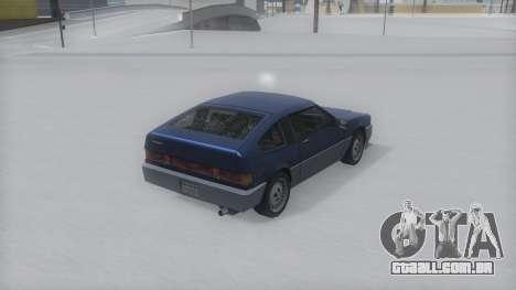 Blista Compact Winter IVF para GTA San Andreas esquerda vista