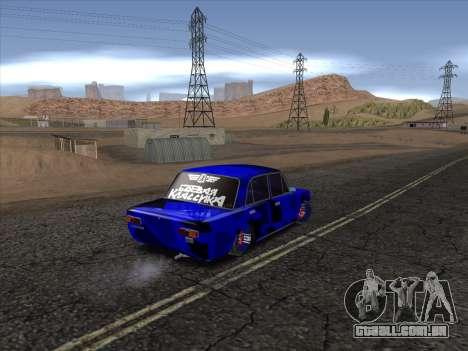 VAZ 2101 BC para GTA San Andreas vista direita