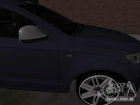 Audi Q7 Armenian para GTA San Andreas vista direita