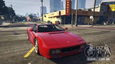 Ferrari Testarossa 512 TR 1991 для GTA 5 para GTA 5