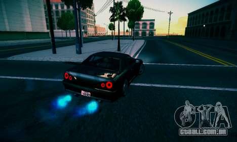 Elegy By DriftRealityTeam para GTA San Andreas traseira esquerda vista
