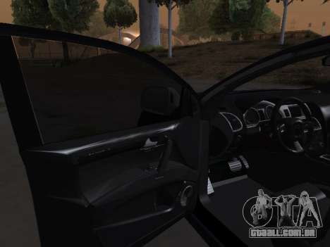 Audi Q7 Armenian para GTA San Andreas vista superior