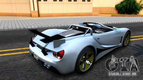 GTA V Vapid FMJ Roadster para GTA San Andreas esquerda vista