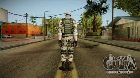 Resident Evil ORC Spec Ops v3 para GTA San Andreas