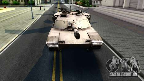 M1A1 Abrams COD4MW Remastered para GTA San Andreas esquerda vista