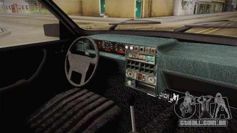 Dacia 1310 Berlina Tunata para GTA San Andreas vista interior