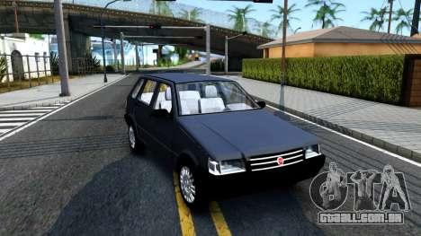 Fiat Uno Fire Mille V1.5 para GTA San Andreas esquerda vista