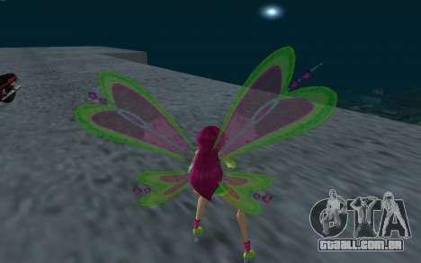 Fairy Roxy from Winx Club Rockstars para GTA San Andreas terceira tela