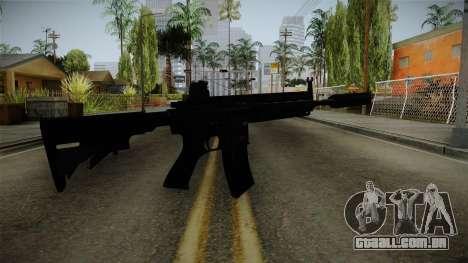 HK416 v3 para GTA San Andreas segunda tela