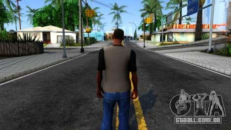 Regular Show T-shirt para GTA San Andreas terceira tela