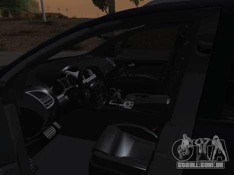 Audi Q7 Armenian para GTA San Andreas vista inferior