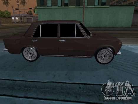 VAZ 2101 arménio para GTA San Andreas vista interior