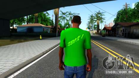 T-Shirt Xbox1 para GTA San Andreas terceira tela