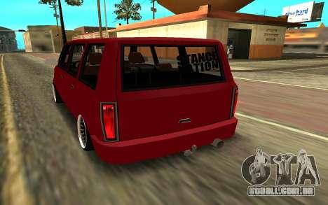 Moonbeam JDM para GTA San Andreas esquerda vista