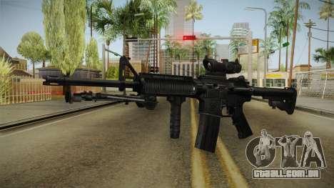 M4A1 ACOG para GTA San Andreas segunda tela