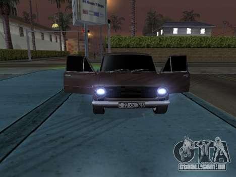 VAZ 2101 arménio para GTA San Andreas vista inferior