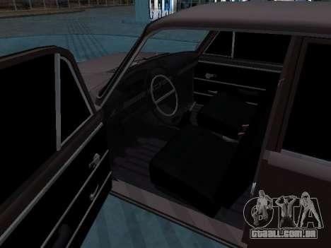 VAZ 2101 arménio para GTA San Andreas traseira esquerda vista