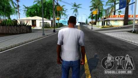 Weezer T-Shirt para GTA San Andreas terceira tela
