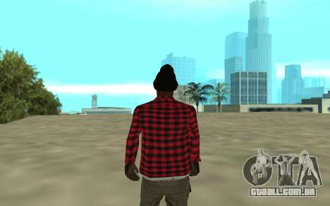 The Ballas para GTA San Andreas terceira tela