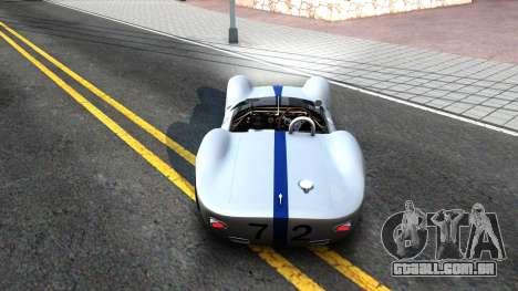 Maserati Tipo 61 para GTA San Andreas vista direita
