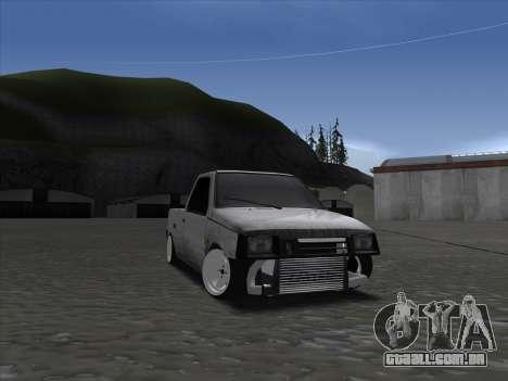 VAZ 1111 Drift para GTA San Andreas vista traseira